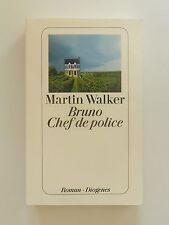 Martin Walker Bruno Chef de police Roman Krimi Diogenes Verlag