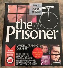 The Prisoner Sealed Box Of Trading Cards 3 Hits & Dealer Promo Unstoppable Cards