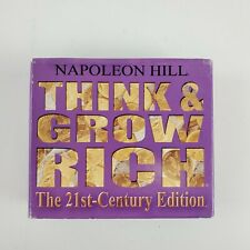 Think and Grow Rich The 21st-Century Edition Unabridged Audio Book on CD Updated