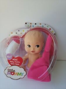 FISHER PRICE Baby LITTLE MOMMY MINI BABY 2 W/ BLANKET FLB37 Mother Birthday girl