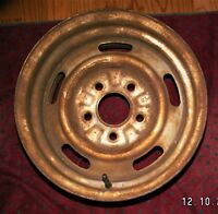 68 69 CHEVY CAMARO NOVA CHEVELLE SS 14X6 CHEVY RALLY WHEEL XN CODE ORIGINAL 14""