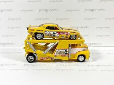 2003 Hot Wheels Limited Edition Don THE SNAKE Prudhomme FUNNY CAR and TRANSPORT