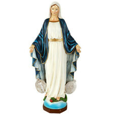 """16"""" Virgin Mary with Miraculous Medal Statue Our Lady of Grace Statue"""