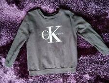 Calvin Klein Women's Faded Grey Sweatshirt Size Medium