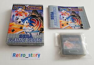 SEGA Game Gear - Sonic The Hedgehog Spinball - PAL