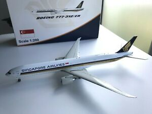 RARE - Singapore Airlines 777-300ER 1:200 - 9V-SWR - JC Wings (Discontinued)