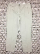 CHICO'S So Slimming Beige Audrey Ankle Pants - Chico's Size 2.5 (Large 14) NWT!