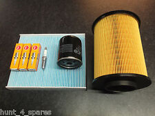 FORD FOCUS MK2 1.6 SERVICE KIT OIL AIR CABIN FILTERS & NGK SPARK PLUGS