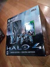 Microsoft Xbox 360 S Halo 4 Limited Edition 320GB Blue Console BOXED