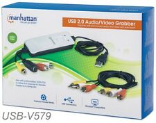 USB Audio/Video Grabber Capture Edit and Convert Audio and Video with one Touch