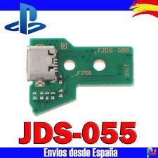 PLACA PARA MANDO PS4 PLAYSTATION 4 JDS 055 JDS 050 CONECTOR CARGA MICRO USB 12 P