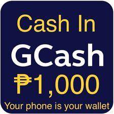 GCASH CASHIN 1,000