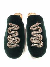 727d9e384f2 NIB Gucci Lawrence Princetown Crystal Snake Slide Loafer Mule Slipper Flats  36