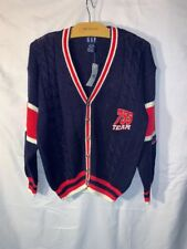 Gap Sweater Rugby Cardigan Navy Red White 755 Team Vintage Letterman