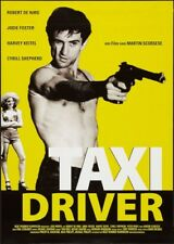 TAXI DRIVER ~ 24x36 ONE SHEET MOVIE POSTER Robert De Niro Jodie Foster Scorsese