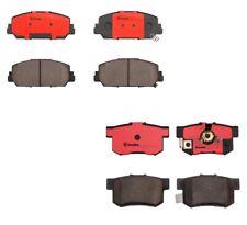 Front & Rear Brembo NAO Ceramic Brake Pad Set Kit For Acura RDX 3.5 V6 2013-2018