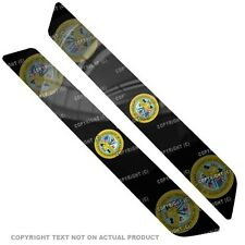 Saddlebag Reflector Decals For 14 Up  Harley - ARMY SEAL - 034