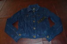 NWT Womens Celebrity PINK Jeans Denim Jacket Blue LAST ONE Size SMALL Stretch