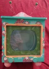 Retro TV Painted Fish Bowl