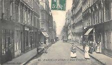 CPA 75 PARIS XVIIe RUE TRUFFAUT