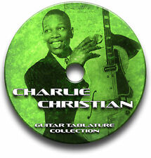 CHARLIE CHRISTIAN BLUES GUITAR TABS TABLATURE SONG BOOK SOFTWARE CD