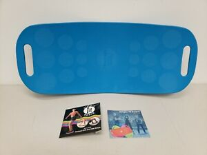 Simply Fit Board Exercise Balance Core Training Fitness Blue HW-JD-4 With DVD