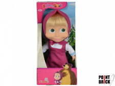 SIMBA Toys - MASHA E ORSO Bambola Masha 23cm - corpo morbido capelli pettimabili
