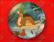 """Bambi Collectors Plate """"Hello, Little Prince"""" by Knowles/Disney"""