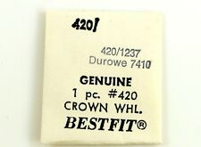 NEW OLD STOCK DUROWE 7410 CROWN WHEEL WATCH PART #420