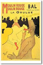 Henri de Toulouse-Lautrec - Moulin Rouge - NEW Vintage Reprint POSTER