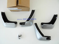 Genuine Nissan Leaf Splash Guards Set Of 4 (K23 Brilliant Silver) F38E0-3NA4A