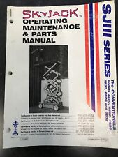 Heavy Equipment Manuals & Books for Skyjack for sale | eBay