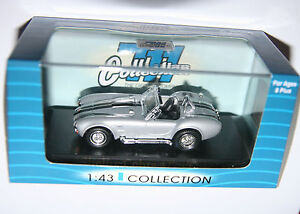 Shelby Cobra 427S/C (1964) Silver - 711 Collection Model Scale 1:43