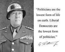 () George S. Patton D-day World War 2 WWII Quote 8 X 10 Photo Photograph