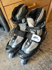British Knights Inline Skates Adult Size 6 Black and Silver