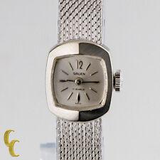 Gruen L.A Women's Watch 14K White Gold Hand-Wind