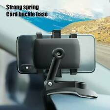 Universal Car Dashboard 360° Rotation Mobile Phone Holder Stand Mount Bracket 1x