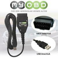 CarPort Software + UDS CAN KKL Für VW Audi Seat Codieren Programmieren lesen