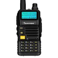 Quansheng UV R50 Rechargeable Dual Band Two Way Radios W Earpiece Long Range Wal