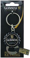 Guinness Bottle Cap keyring with flip down bottle opener   2029  (sg)