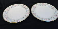 Nantucket Eggshell Nautilus Homer Laughlin Two Bread and Butter Plates USA