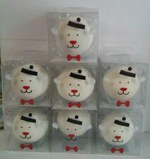7 White Polar Bear Beauty Blender rolled aponge across skin Holiday Gift By CVS