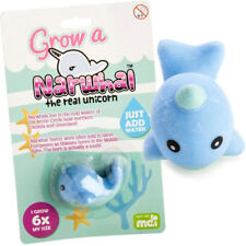 Grow Your Own Narwhal Girls Boys CUTE FUN TOY NOVELTY Poison Unicorn of the Sea