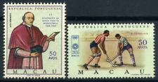 Macao 1969-1972 Mi. 448, 454 Nuovo ** 100% Santa Casa, Olimpiadi, Monaco.