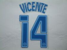 VICENTE NOME+NUMERO VALENCIA AWAY 2004-2005 OFFICIAL NAMESET