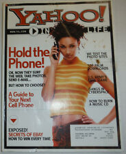 Yahoo! Magazine A Guide To Your Next Cell Phone August 2002 032015R