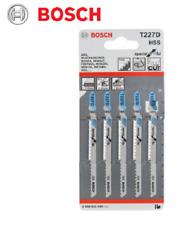 Bosch T227D Jigsaw Blades for Metal Aluminium PVC 2608631030  Pack of 5