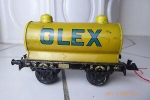 Bing OLEX Kesselwagen Gelb Spur 0 (N9523)