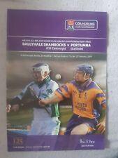 GAA club semi final 2009 Ballyhale Shamrocks vs Portumna