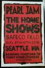 PEARL JAM HOME SHOWS - PROMO ONLY 1 LEFT - 11X17